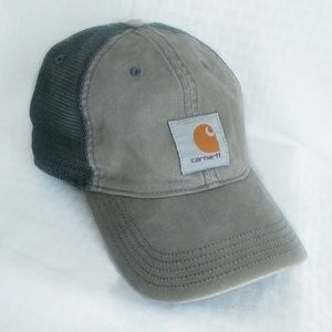 Carhartt baseball style cap snapback gray logo